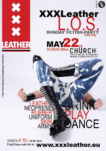 Flyer L.O.S. 22 mei 2016