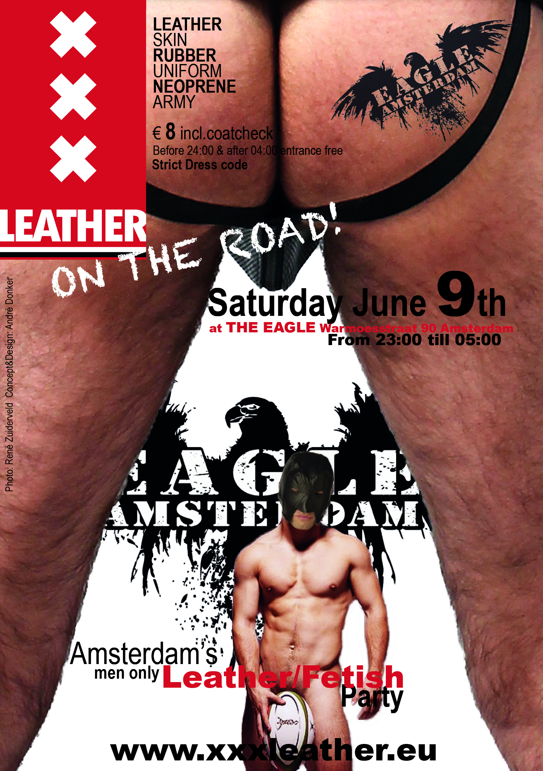 XXXleasther at the Eagle June 9th